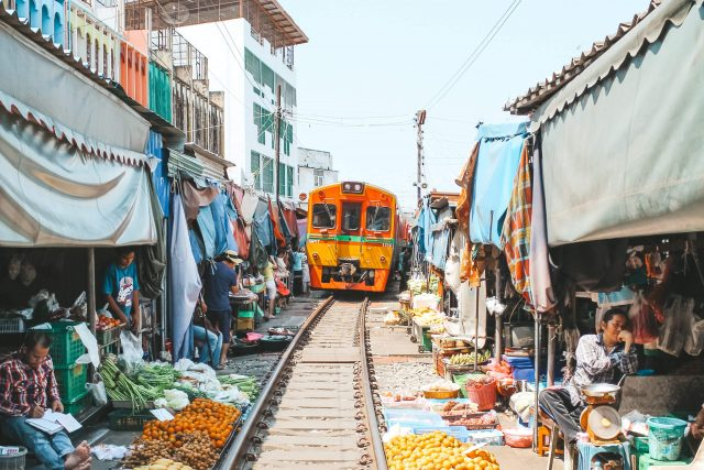 train market thailand disko drugar