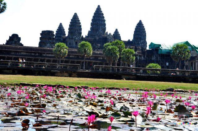 Angkor Vat hramovi u Kambodži