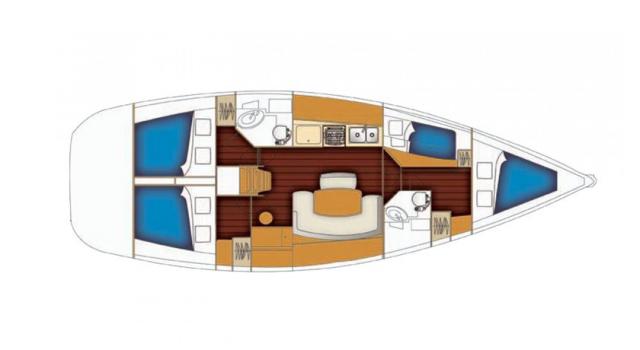 BENETAU-CYCLADES-43.4ft--Disko-Travel-jedrilica