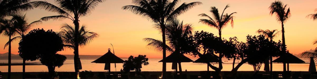 Bali letovanje - zalazak sunca na plaži