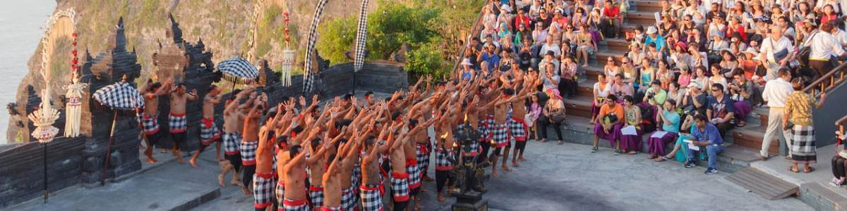 Tradicionalni ples majmuna na Baliju