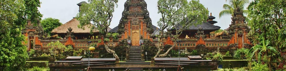 Ubud - arhitektura Balija