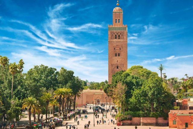 Marakeš Maroko Disko Drugar