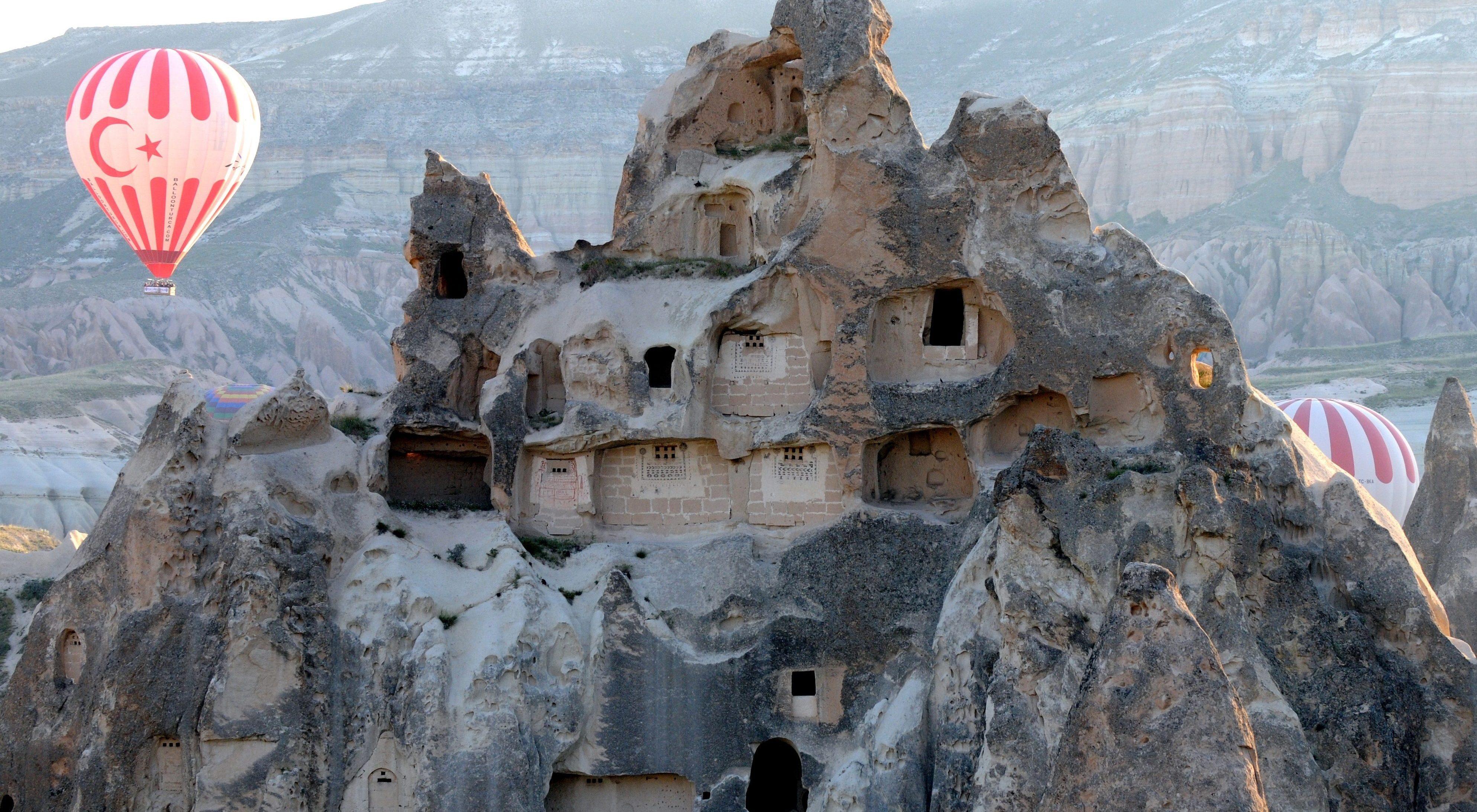 Podzemni gradovi - Kapadokija