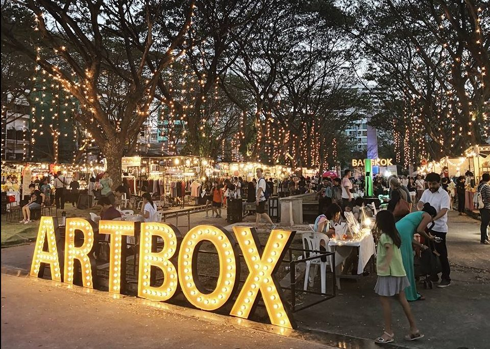 Hipsterski noćni market u Tajlandu Disko Drugar