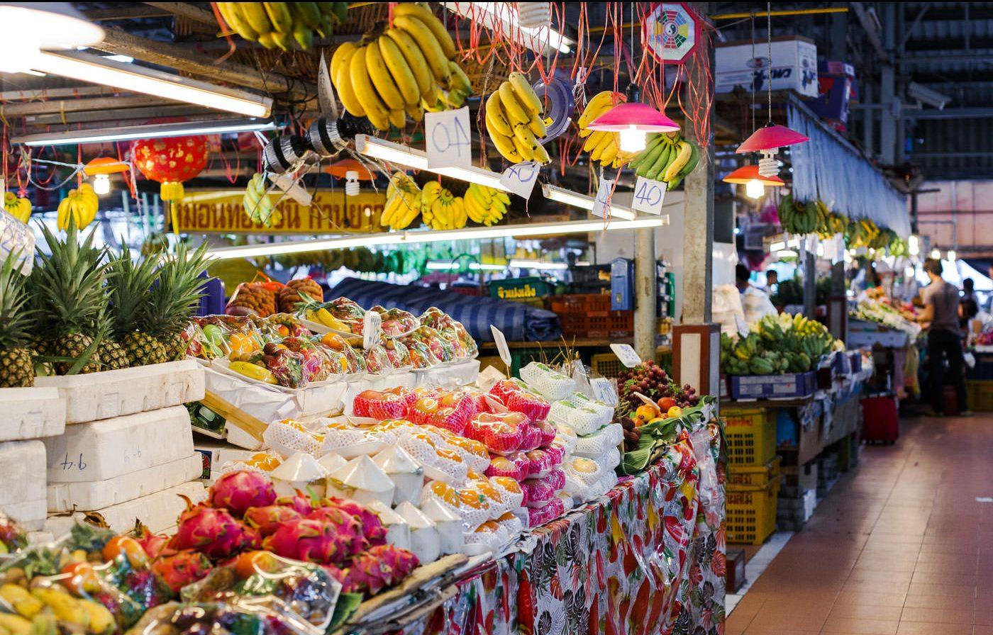 Pijaca svežeg voća i povrća Bangkok