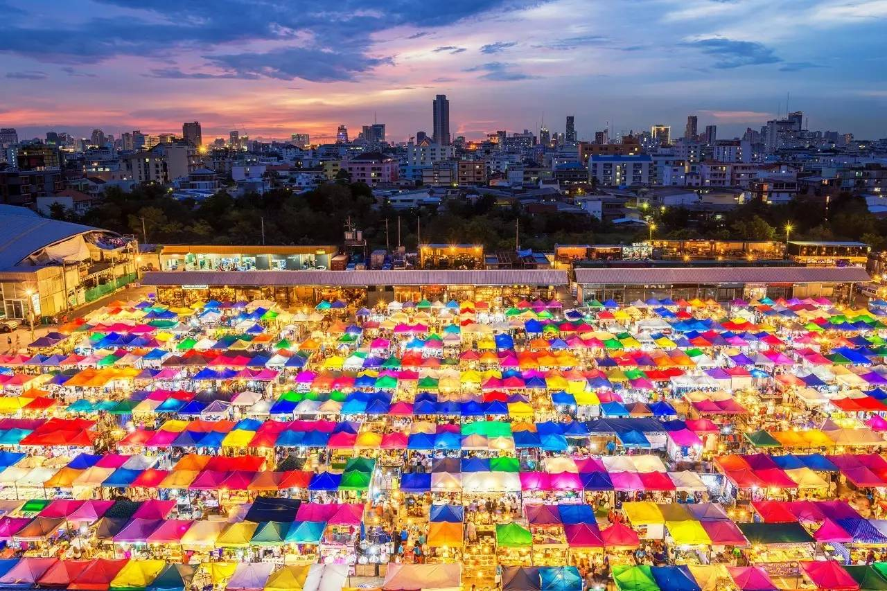 Pijace u Bangkoku Disko Drugar