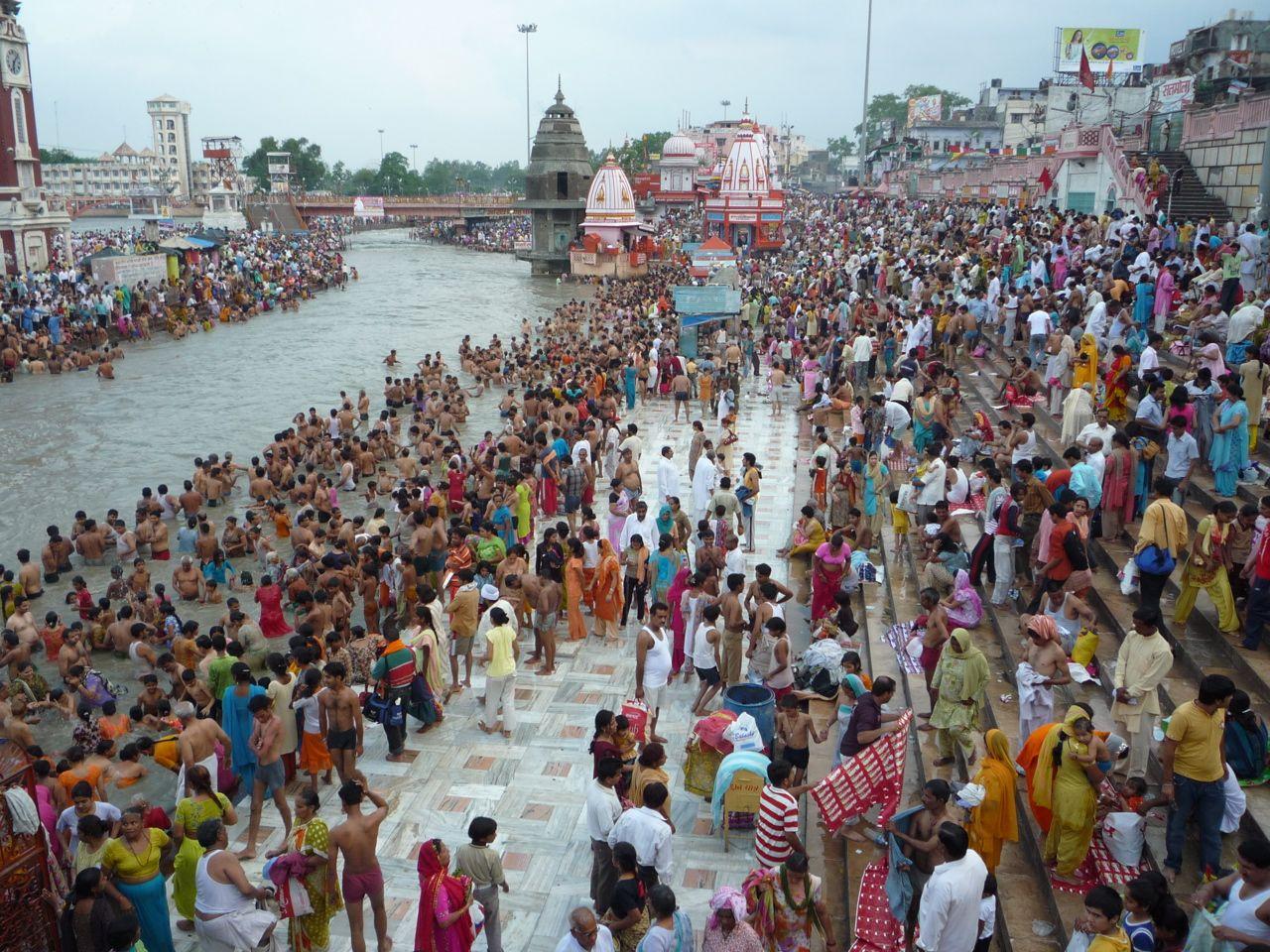 Reka Gang Indija DIsko Travel