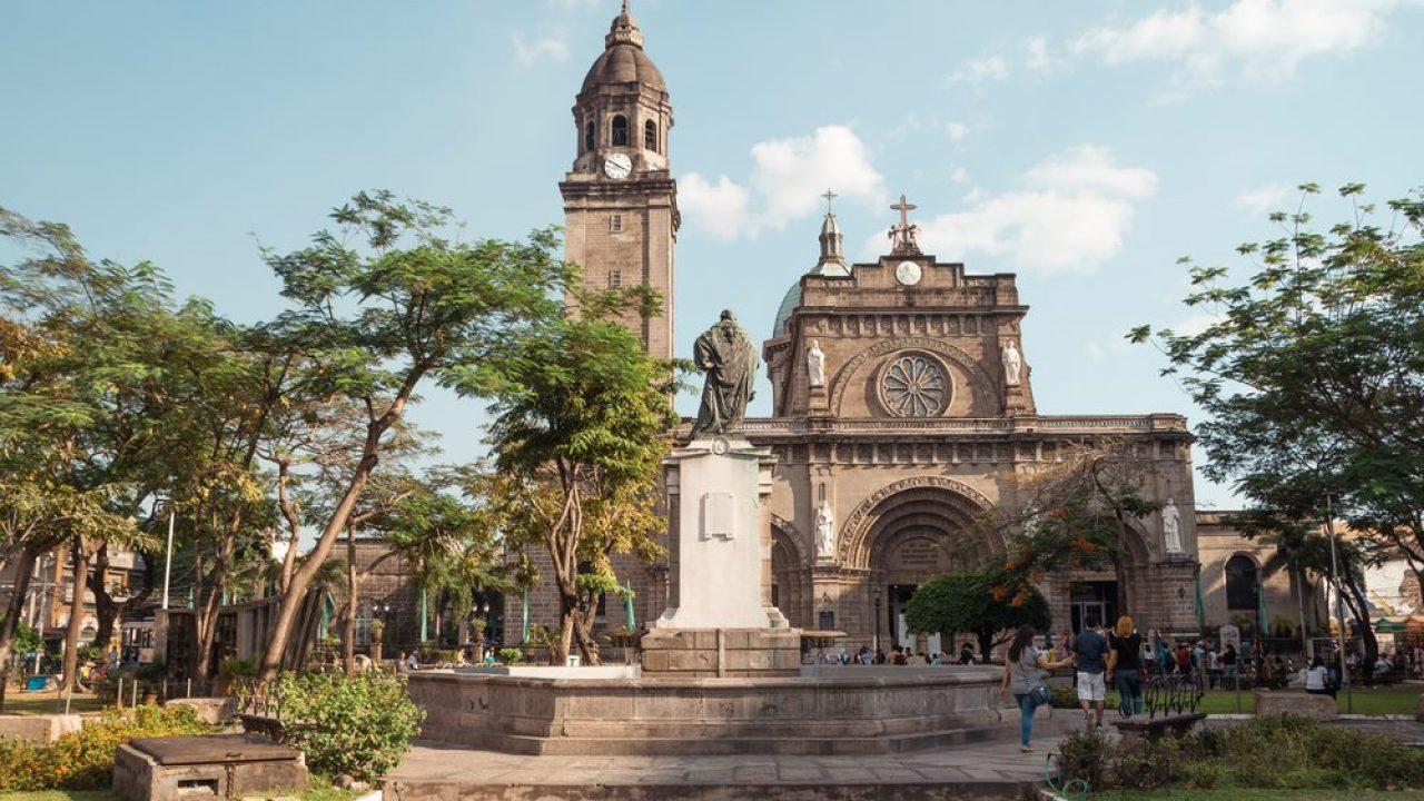Stari grad Manile posetite Filipine Disko Drugar