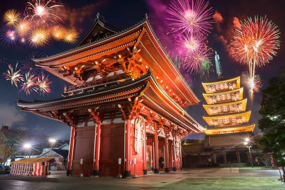 Nova godina u Japanu Disko Travel
