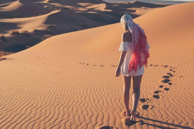 Maroko Sahara Disko Drugar