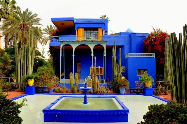 Majorelle bašta Maroko Disko Drugar2