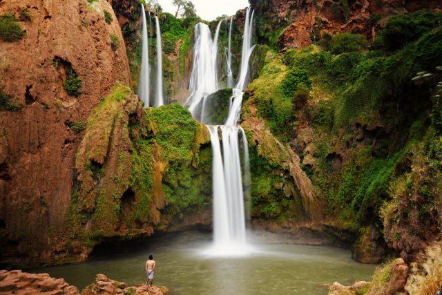 Ouzoud vodopadi Maroko2