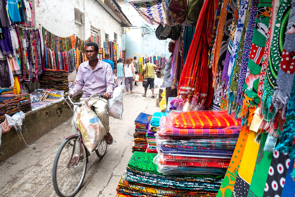 Pijace u Stone Town Zanzibar Disko Drugar